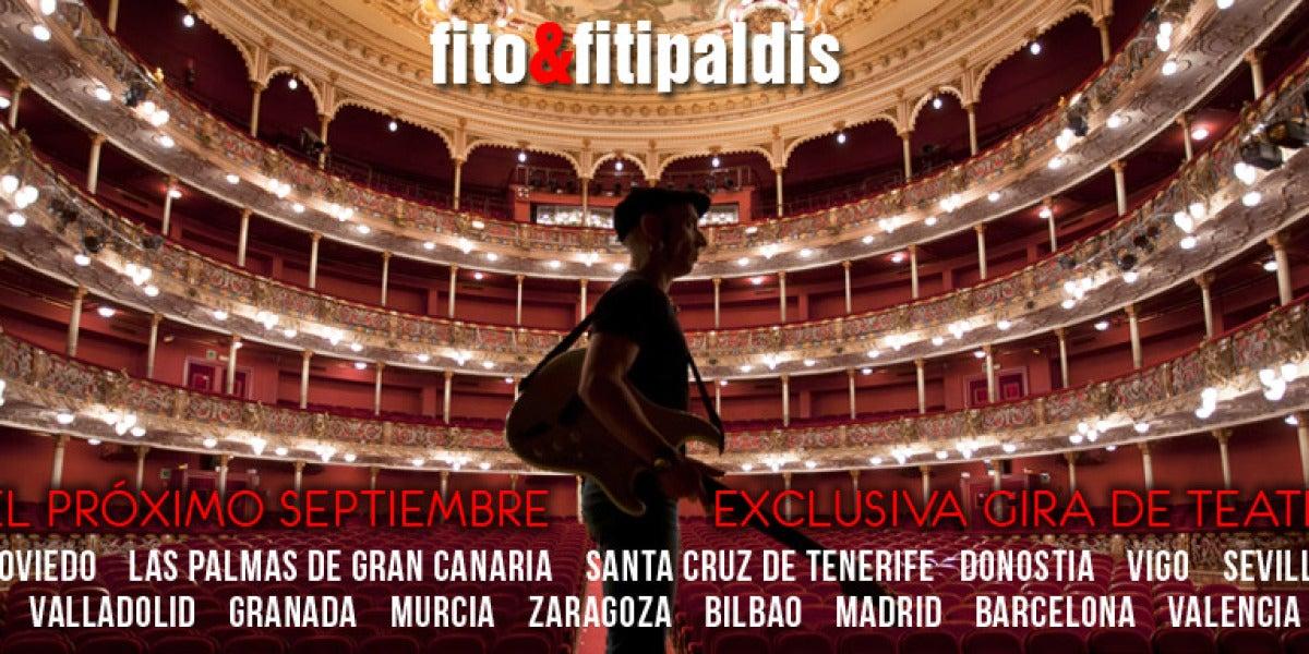 Gira por teatros de Fito y Fitipaldis