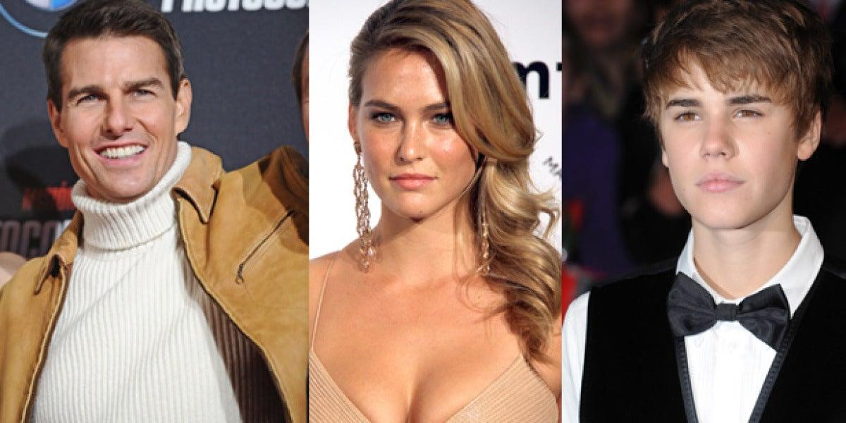 Bar Refaeli entre dos hombres: ¿Tom Cruise o Justin Bieber?