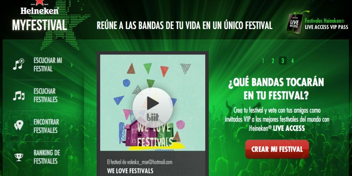 My Festival de Heineken