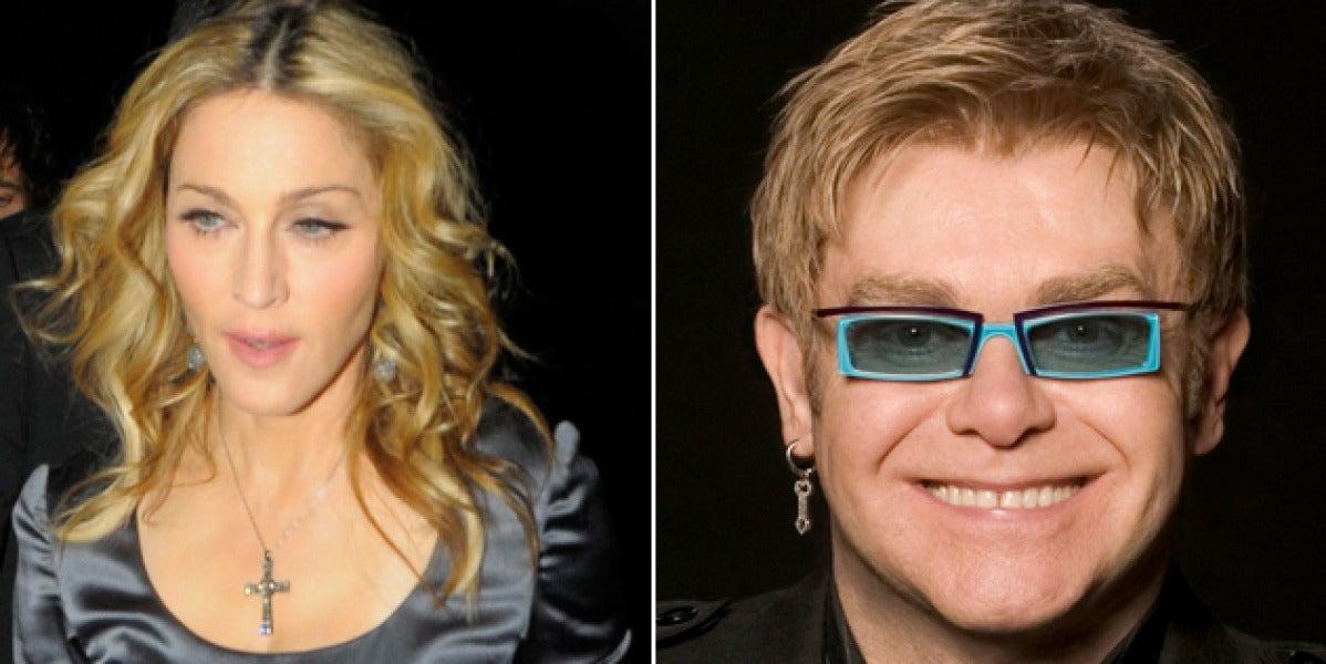 Elton John critica duramente a Madonna