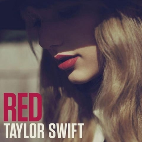 Portada de 'Red', de Taylor Swift