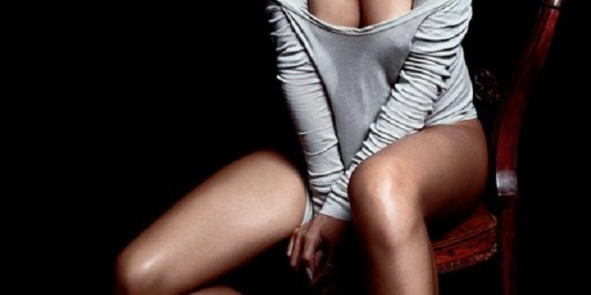 Posado de Rihanna para GQ