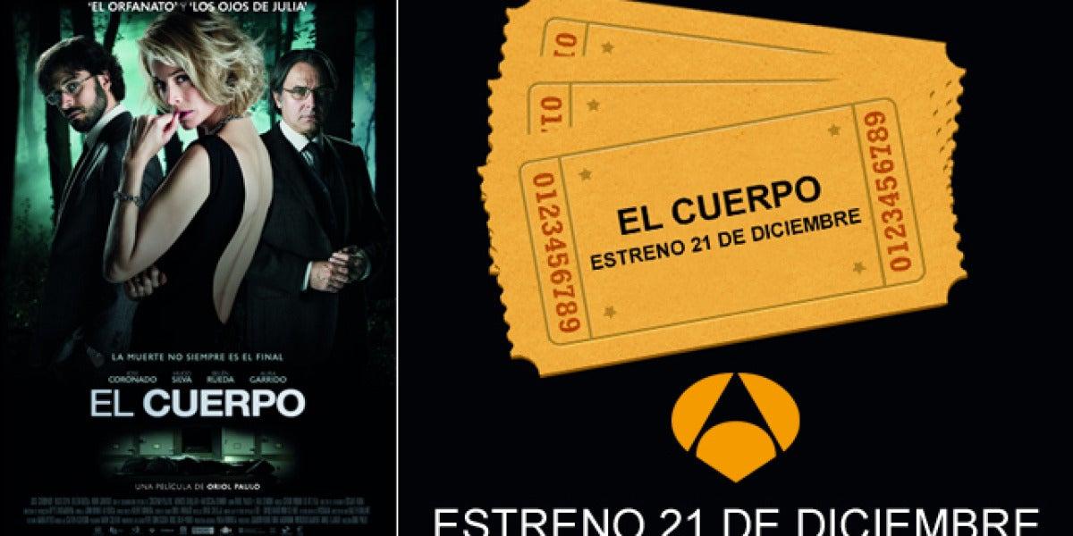 Consigue tu entrada doble para ir a ver 'El Cuerpo'.