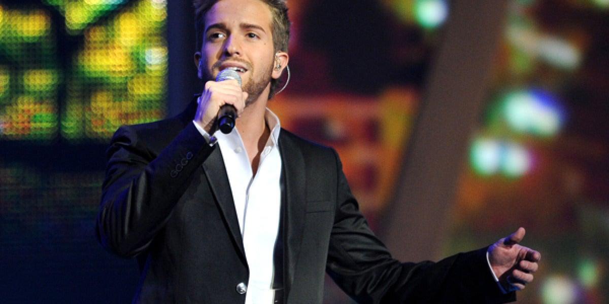 Pablo Alborán en concierto.