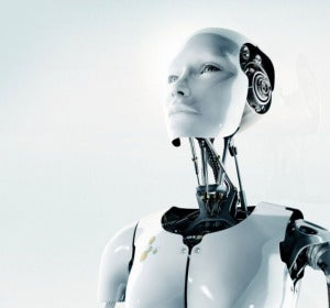 Imagen de archivo de un robot