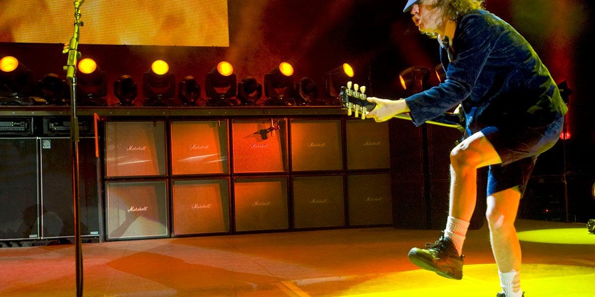 Después de 40 años, AC/DC continúa siendo el icono del cine