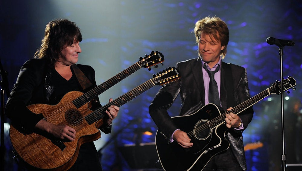 Richie Sambora junto a Jon Bon Jovi