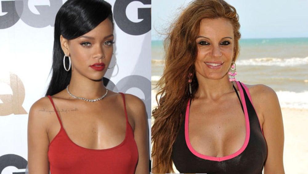 Sonia Monroy participa en el casting del videoclip de Rihanna