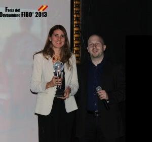 El Estirón recibe el premio 'Por un mundo más fitnes'