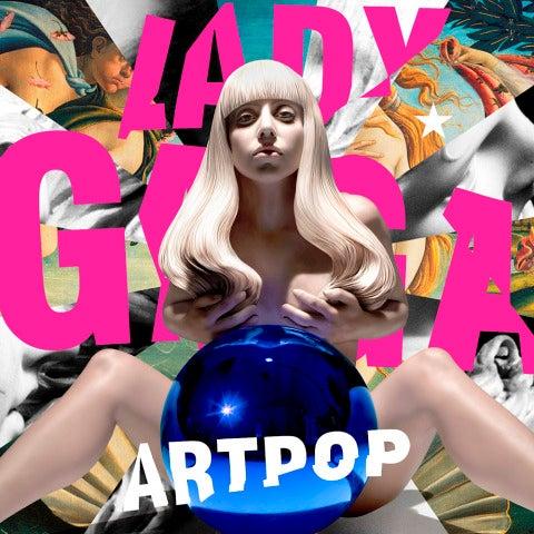 Portada de ARTPOP de Lady Gaga