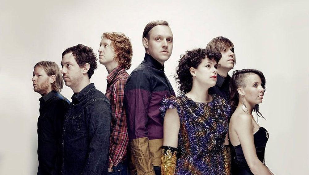 El grupo Arcade Fire