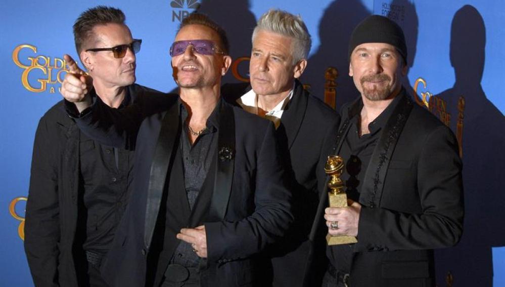 U2 se lleva el Globo de Oro a Mejor canción original 'Ordinary Love' en 'Mandela'