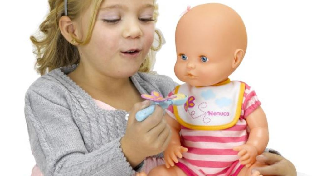 Muñeca «Nenuco no me come»