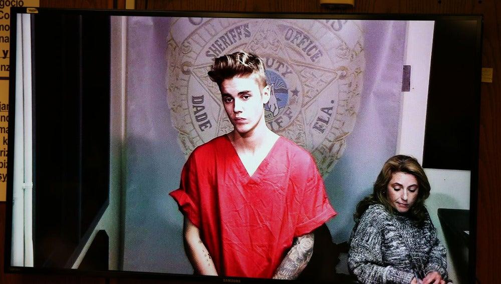 El cantante, durante su paso por la cárcel