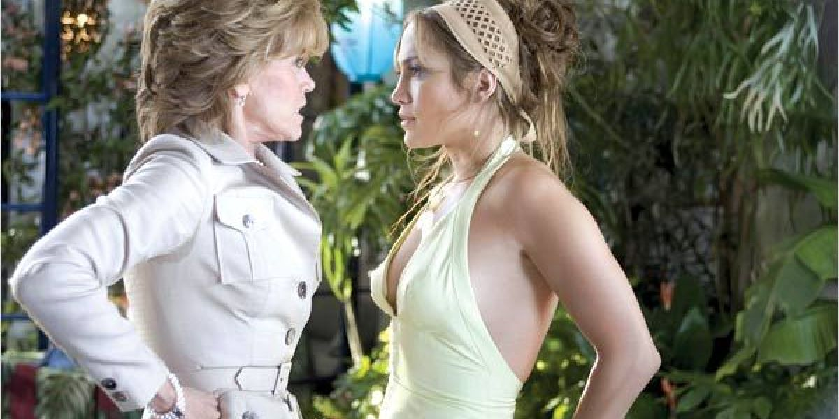Jane Fonda y Jennifer López en 'La madre del novio'