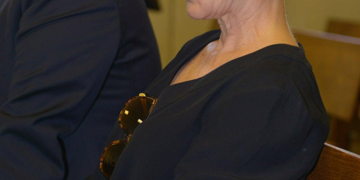 Ana Torroja, en los juzgados de Palma de Mallorca