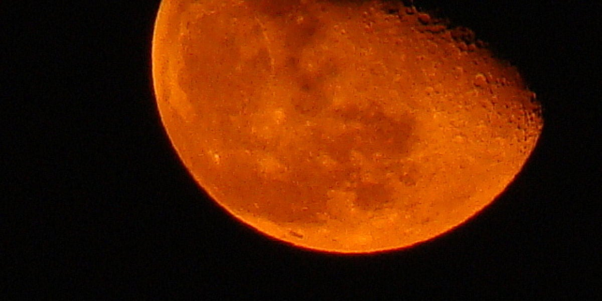 Luna roja de 2008.