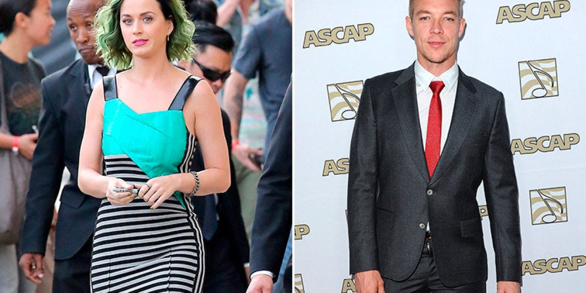 Katy Perry supera la ruptura con John Mayer, gracias a Diplo