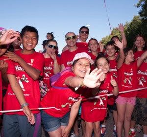 Un grupo de niños en 'De marcha con El Estirón'