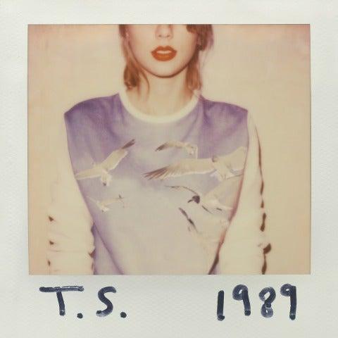 Portada de '1989' el nuevo disco de Taylor Swift