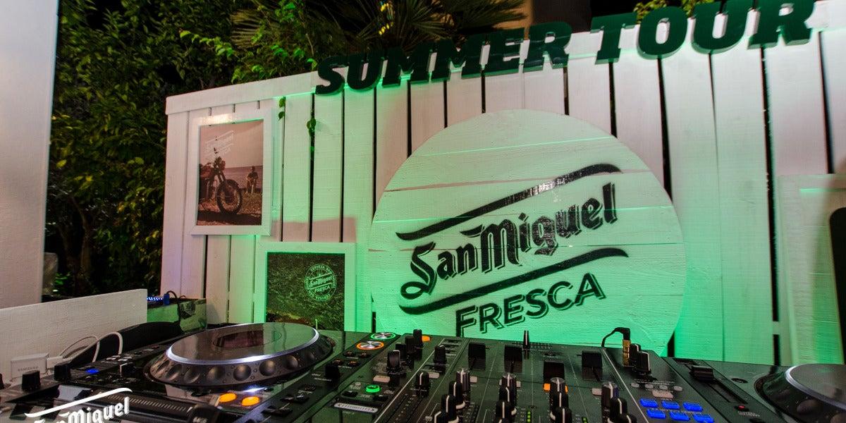 San Miguel Fresca Summer Tour en Cataluña