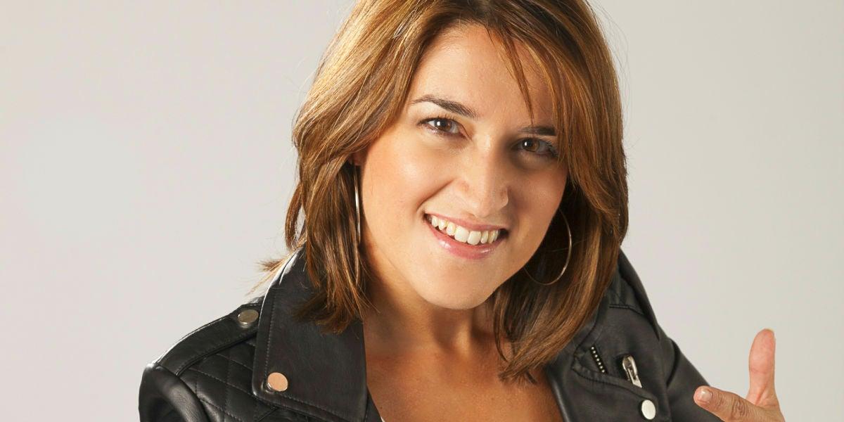 Julie Thomasoro, presentadora de La Noche Es Nuestra