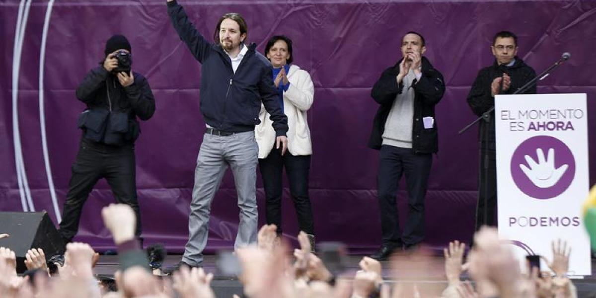 Pablo Iglesias, en la 'Marcha del cambio'