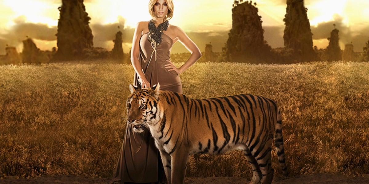 Imagen de Edurne en el videoclip de 'Amanecer'