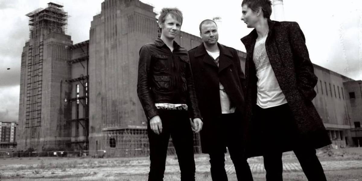 El trio británico Muse