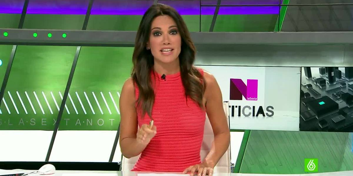 La presentadora Cristina Saavedra