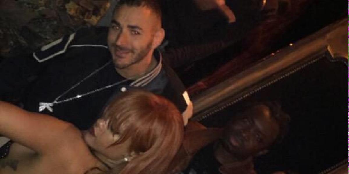 Rihanna y Benzema de fiesta en Nueva York