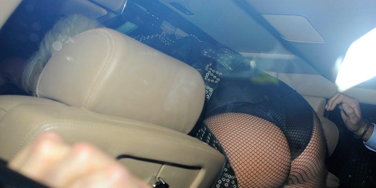 El culo de Lady Gaga en primer plano
