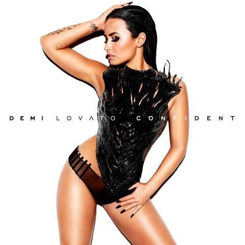 Demi Lovato en la portada de su disco Confident
