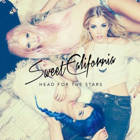Sweet California en la portada de Head For The Stars