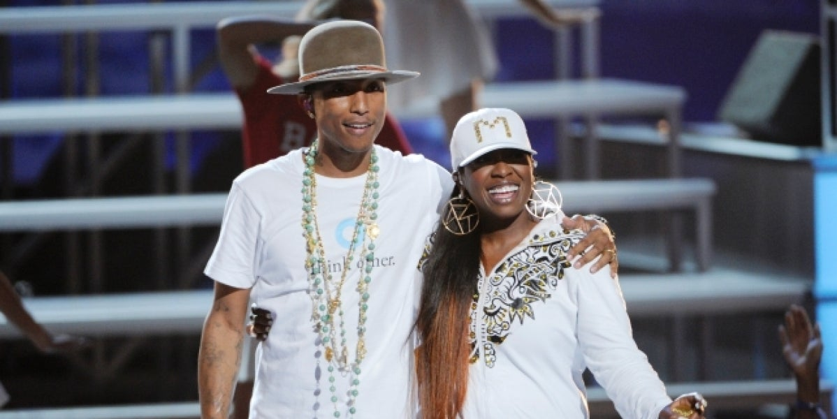Missy Elliott y Pharrel Williams