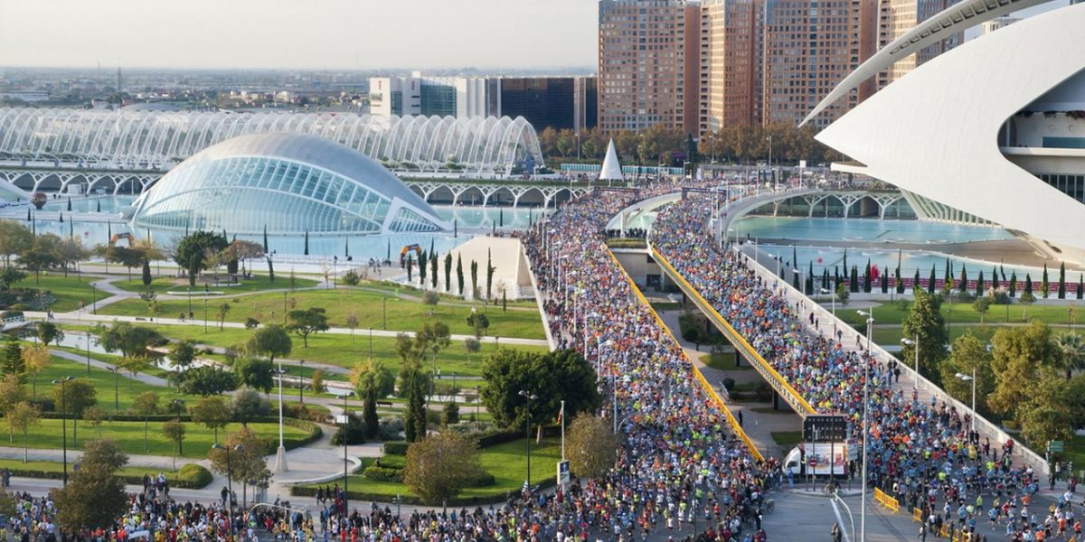 Gran participación Maratón de Valencia