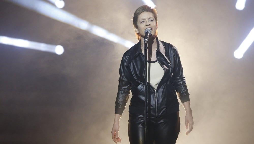 Ruth Lorenzo imita a David Bowie