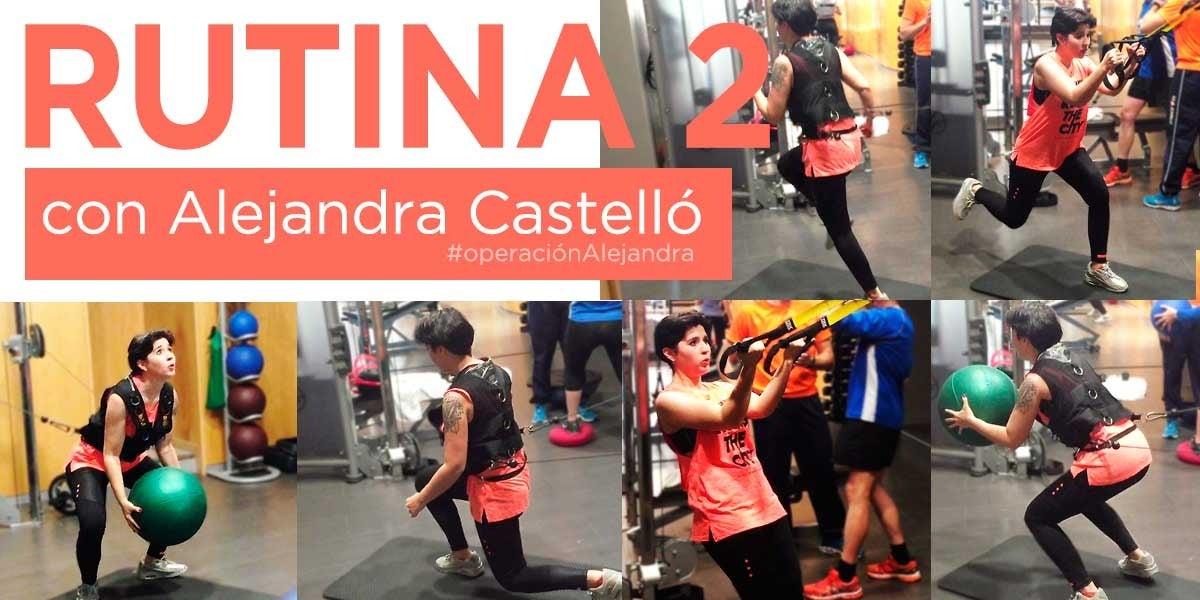 Rutina 2, Alejandra Castelló