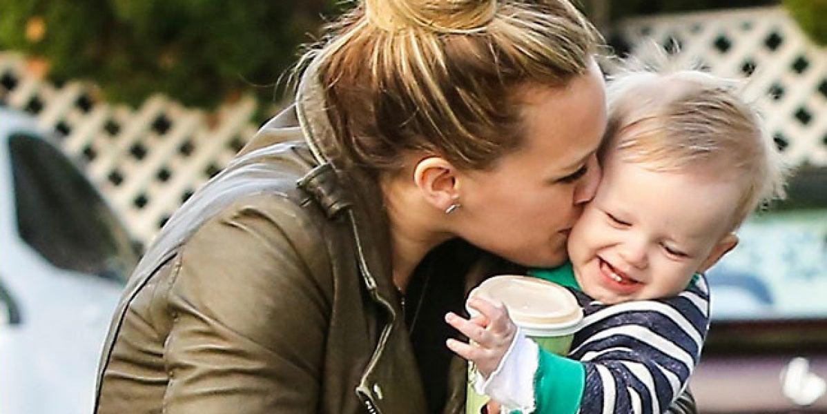 Hilary Duff y su bebé