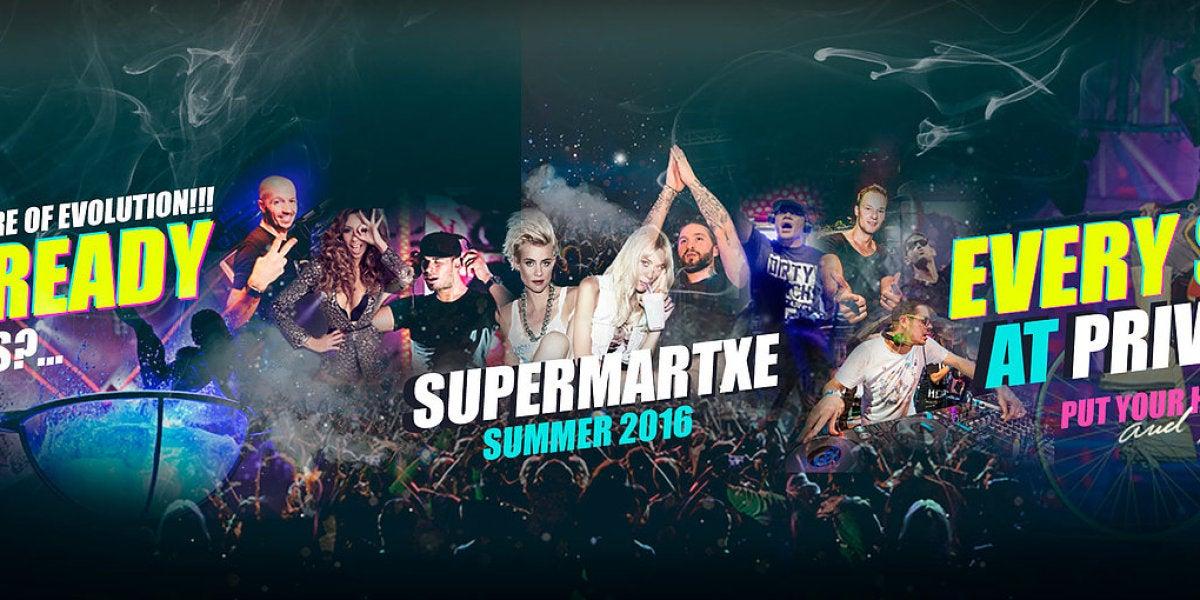 SuperMartXé en Privilege Ibiza