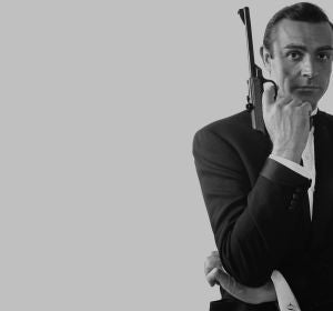 Sean Connery como 'James Bond'