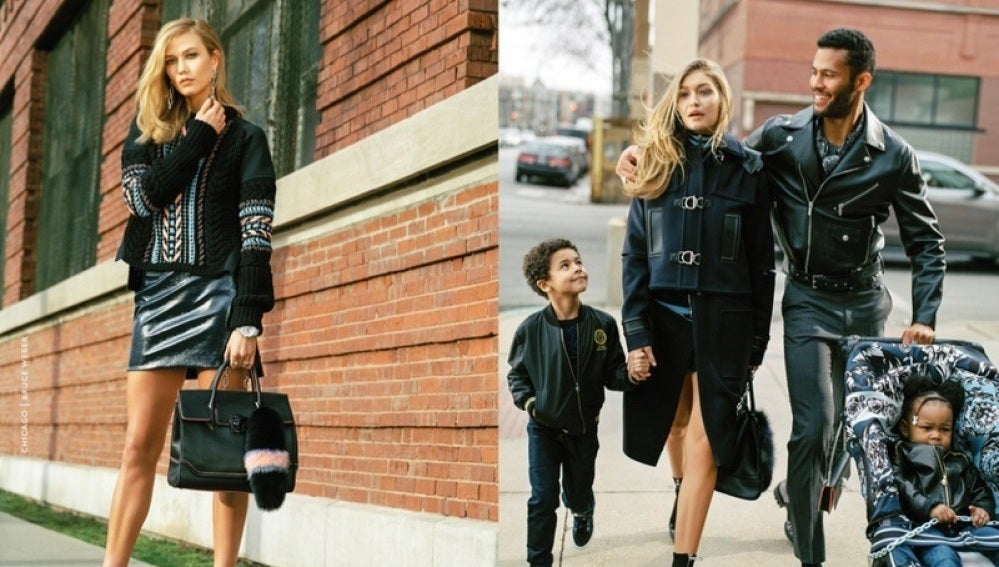 Karlie Kloss y Gigi Hadid protagonizan la nueva campaña de Versace