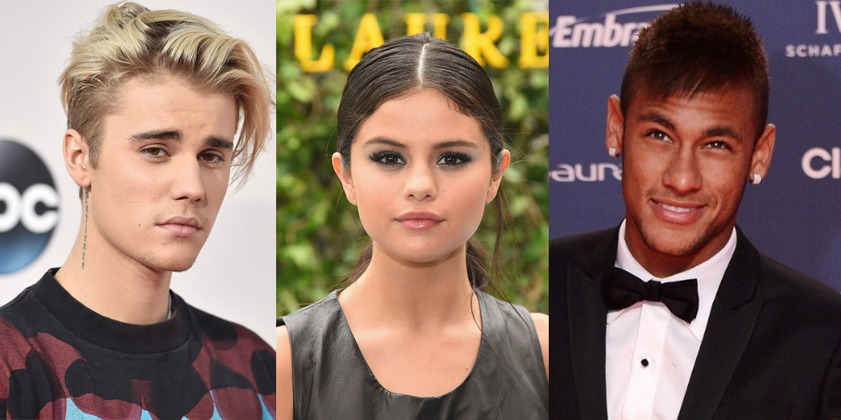 ¿Ha traicionado Neymar a Justin Bieber con Selena Gomez?