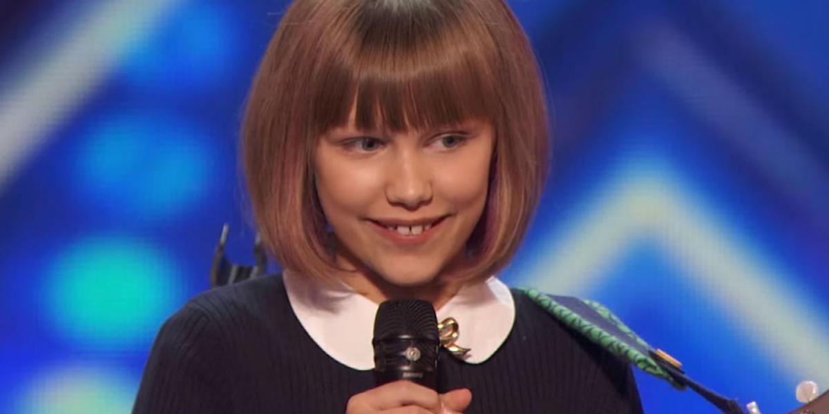 Grace Vanderwaal en su actuación en America's Got Talent