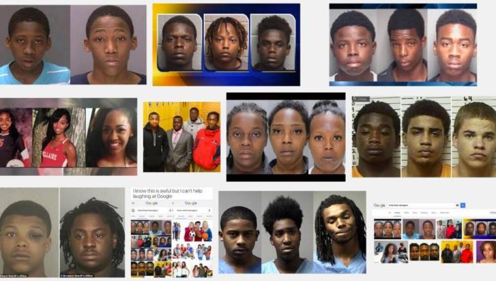 Los resultados de Google al buscar 'Three black teenagers' causa indignación