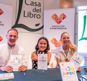 Lary León presenta su libro en Madrid
