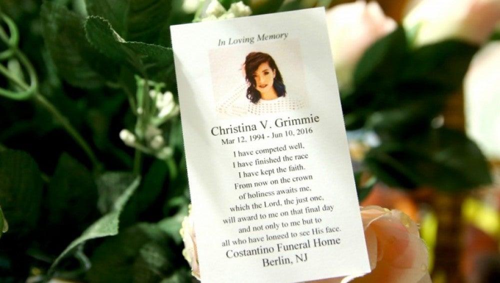 Funeral de Christina Grimmie