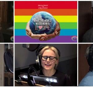Las estrellas de Broadway cantan a las víctimas del tiroteo de Orlando