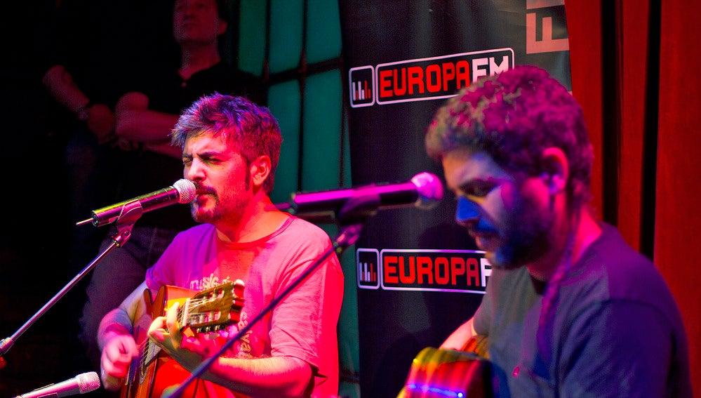 Showcase exclusivo de Estopa en la #MusicWeekEuropaFM
