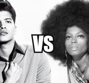Mashup: Bruno Mars VS Diana Ross